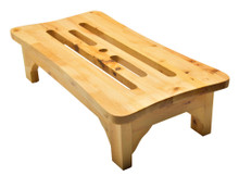 ALFI AB4408 24'' Wooden Stool for your Wooden Tub