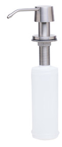 ALFI AB5004-BSS Solid Brushed Stainless Steel Modern Soap Dispenser