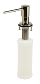 ALFI AB5006-PSS Modern Round Polished Stainless Steel Soap Dispenser
