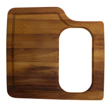 ALFI AB50WCB Rectangular Wood Cutting Board with Hole for AB3520DI