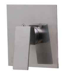 ALFI AB5501-BN Brushed Nickel Shower Valve Mixer with Square Lever Handle
