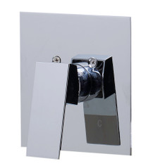 ALFI AB5501-PC Polished Chrome Shower Valve Mixer with Square Lever Handle