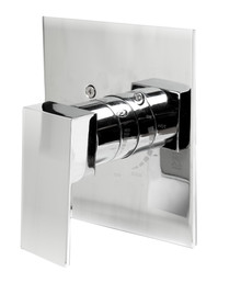 ALFI AB6701-PC Polished Chrome Modern Square Pressure Balanced Shower Mixer