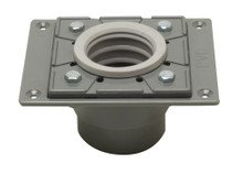 ALFI ABDB55 PVC Shower Drain Base with Rubber Fitting