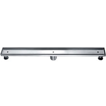 "ALFI ABLD32A 32"" Modern Stainless Steel Linear Shower Drain w/o Cover"
