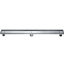 "ALFI ABLD36A 36"" Modern Stainless Steel Linear Shower Drain w/o Cover"