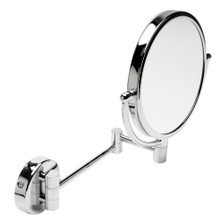 "ALFI ABM8WR-PC 8"" Round Wall Mounted 5x Magnify Cosmetic Mirror"