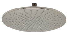 "ALFI LED12R-BN Brushed Nickel 12"" Round Multi Color LED Rain Shower Head"