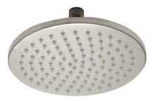 "ALFI LED8R-BN Brushed Nickel 8"" Round Multi Color LED Rain Shower Head"