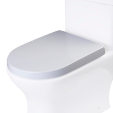 EAGO R-353SEAT Replacement Soft Closing Toilet Seat for TB353