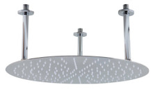 "ALFI RAIN20R-PSS 20"" Round Polished Solid Stainless Steel Ultra Thin Rain Shower Head"