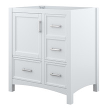 Foremost EHWV3022D Everleigh 30 Inch Wide Vanity with Doors & Drawers - White