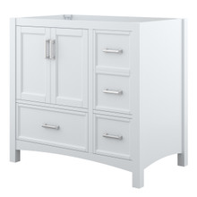 Foremost EHWV3622D Everleigh 36 Inch Wide Vanity with Doors & Drawers - White