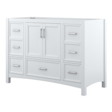 Foremost EHWV4822D Everleigh 48 Inch Wide Vanity with Doors & Drawers - White