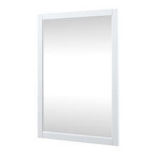 Foremost EHWM2432 Everleigh 24 Inch W x 32 Inch H Framed Mirror - White