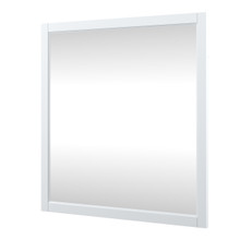 Foremost EHWM3232 Everleigh 36 Inch. W x 32 Inch H Framed Mirror - White