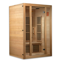 "Maxxus ""Seattle Edition"" 2 Person Low EMF FAR Infrared Carbon Canadian Hemlock Sauna"