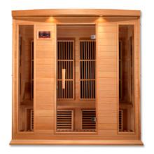 Maxxus 4 Person Low EMF FAR Infrared Carbon Canadian Hemlock Sauna