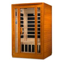 "Dynamic Saunas ""San Marino"" 2-person Low EMF Far Infrared Sauna"