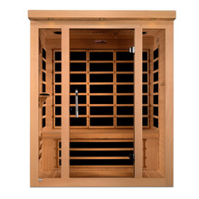 "Dynamic Saunas ""Vila"" 3-person Ultra Low EMF Far Infrared Sauna"