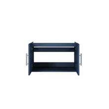 """Lexora Geneva 30"""" Navy Blue Vanity Cabinet Only"""