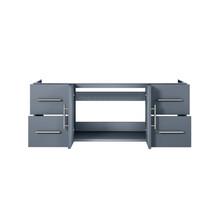 "Lexora Geneva 48"" Dark Grey Vanity Cabinet Only"