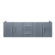 "Lexora Geneva 60"" Dark Grey Vanity Cabinet Only"