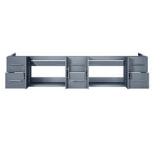"Lexora Geneva 84"" Dark Grey Vanity Cabinet Only"