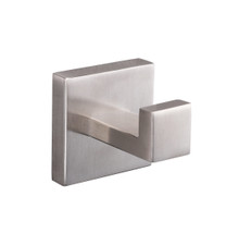 Lexora Bagno Lucido Stainless Steel Robe Hook - Satin Nickel