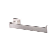 Lexora Bagno Lucido Stainless Steel Toilet Paper Holder - Satin Nickel