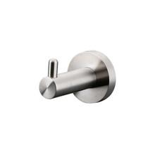 Lexora Bagno Nera Stainless Steel Robe Hook - Satin Nickel