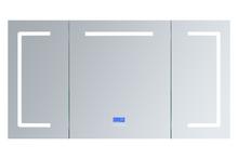 "Lexora Lesina 60"" Wide x 32"" Tall LED Medicine Cabinet w/ Defogger"