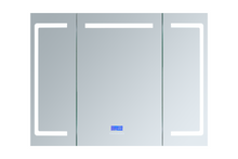 "Lexora Lesina 48"" Wide x 36"" Tall LED Medicine Cabinet w/ Defogger"