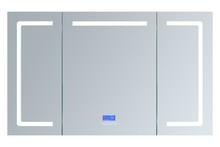 "Lexora Lesina 60"" Wide x 36"" Tall LED Medicine Cabinet w/ Defogger"