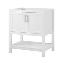 "Hollis 30"" Vanity Cabinet - White"