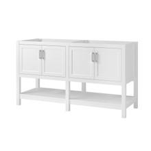 "Hollis 60"" Vanity Cabinet - White"