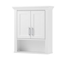 "Hollis 24"" Wall Cabinet - White"