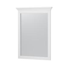 """Hollis 24"""" Framed Mirror - White"""