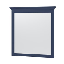 """Lawson 32"""" Framed Mirror - Aegean Blue"""