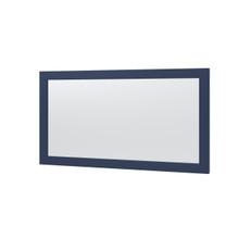 """Lawson 60"""" x 32"""" Framed Mirror - Aegean Blue"""