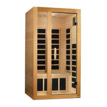 Golden Designs Gracia 1-2 Person Low EMF FAR Infrared Sauna