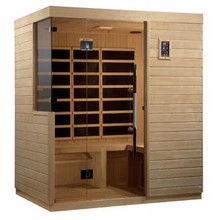 Golden Designs Bilbao 3 Person Ultra Low EMF FAR Infrared Sauna