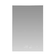 "Lexora Savera 24"" Wide x 32"" Tall LED Medicine Cabinet w/ Defogger"