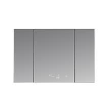 "Lexora Savera 48"" Wide x 32"" Tall LED Medicine Cabinet w/ Defogger"