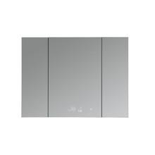 "Lexora Savera 48"" Wide x 36"" Tall LED Medicine Cabinet w/ Defogger"