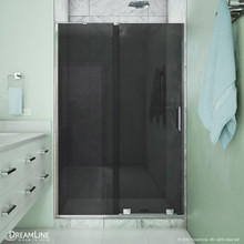 DreamLine Mirage-X 44-48 in. W x 72 in. H Frameless Sliding Shower Door in Chrome
