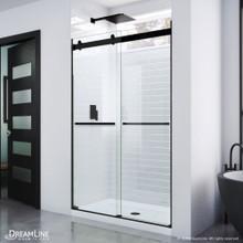DreamLine Essence 44-48 in. W x 76 in. H Frameless Bypass Shower Door in Satin Black