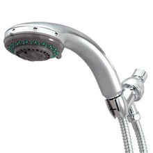 Kingston Brass KX2528B 5 Function Hand Shower With Stainless Steel Hose - Satin Nickel
