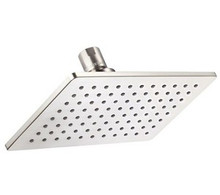 Danze D460060BN Mono Chic Rectangular Showerhead With Brass Ball Joint 2.5 GPM Max Flow - Brushed Nickel