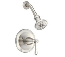 Danze D501515T Eastham Single Handle Shower Faucet Trim with 1.75 GPM Showerhead - Chrome
